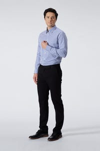 Slim Fit Polyester Rayon Twill Pants