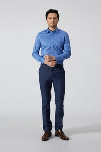 Regular Fit Poly Twill Pants