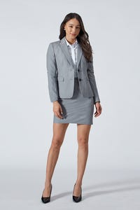 Twill Suit Skirt