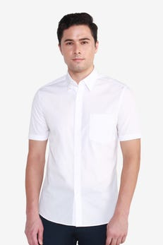 Short Sleeve CVC Poplin Shirt