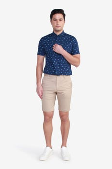 Cotton Spandex 5 Pocket Shorts