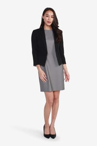 Coolmax Suit Blazer with Flared Back Detail