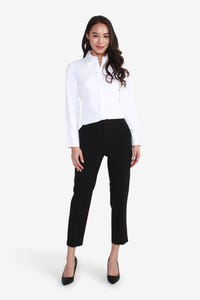 Coolmax Long-Sleeve Shirt with Wide Collar