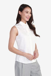 Rayon Blouse with Detachable Tie