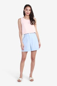 Easy-Care High-Waisted Shorts