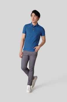 Skinny Fit Cotton Spandex 5 Pocket Pants