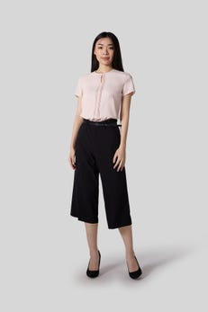 Basic Belted Culottes