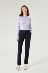 Calvary Twill Ankle Cigarette Suit Pants