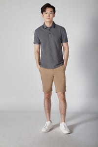 Contrast Tipping Collar Polo