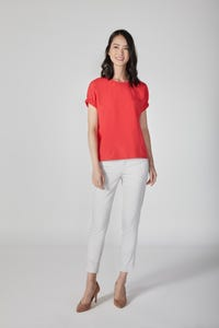Lightweight Cotton Elastic Blouse