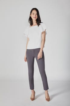 Square Neck Two-Way Blouse