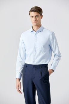 Smart Fit Easy to Iron Dobby Twill Shirt