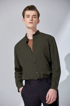Smart Fit Casual Poplin Shirt