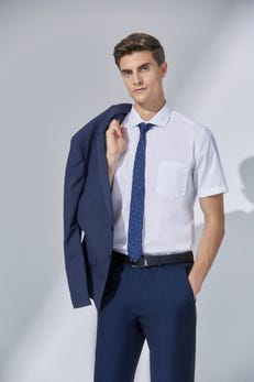 Smart Fit Dobby Twill Easy to Iron Shirt