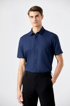 Smart Fit Easy To Iron Oxford Shirt