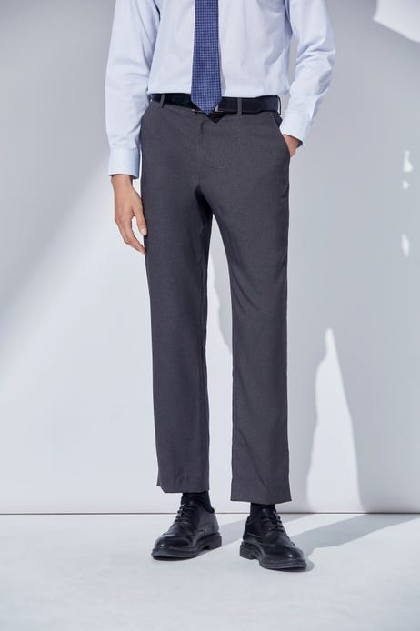 Slim Fit Easy Care & Anti-static Flat Front Pants