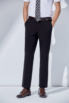 Smart Fit TR Plain Weave Pants with Elastic Waist Band