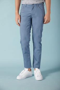 Slim Fit Cotton Spandex Pants