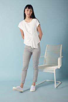 Ankle Skinny Double Weave Pants