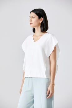 Extended Sleeve Blouse