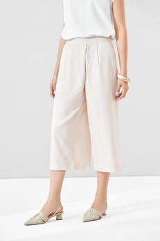 Deluxe Poly Wrap Front Culottes