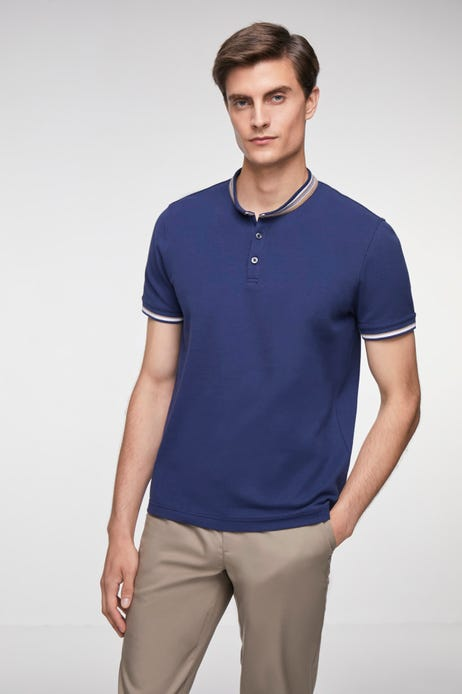 Tipping Stand Collar Polo