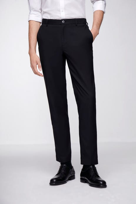 Ultra Slim Fit Polyester Twill Pants