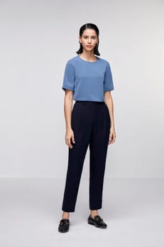 Soft Poly Twill Top