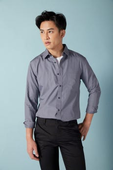 Smart Fit Tech Non Iron Poplin Shirt