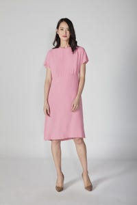 Slip Dress with Extended Sleeves
